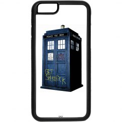 SuperWhoLock Iphone Case