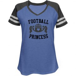 Football Princess Misses Relaxed Fit District Game Tee