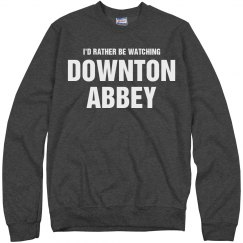 Watching Downton Abbey