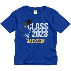 Class of 2028 Kindergartner Grad