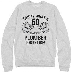 60 year old plumber
