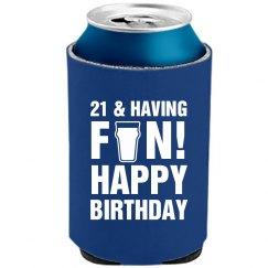 Danny's 21st Birthday