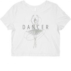 Dancer Ballerina Sketch Shirt