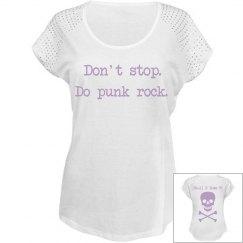 Punk Rock Pastel Stud Shirt