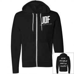 Unisex JDF StayHumble Zip Hoodie