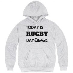 Today is rugby day