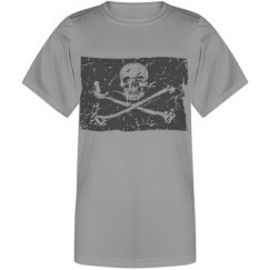 Grunge Skull Youth Tee