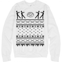 Zombie Holiday sweater