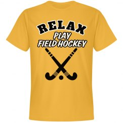 Relax...Play Field Hockey