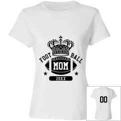 Custom Football Mom Queen