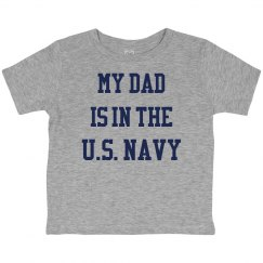 My dad is in the u.s. navy