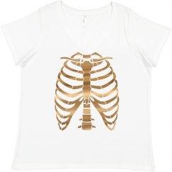 Metallic Bling Skeleton Costume