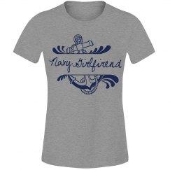 Navy Girlfriend Shirt