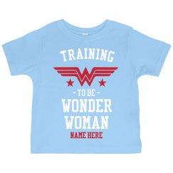 Custom Training to be Wonder Woman
