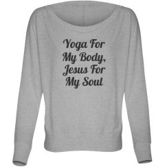 Yoga & Jesus Long Sleeve