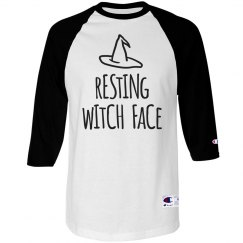 Resting Witch Face Raglan
