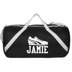 Football Sport Roll Bag