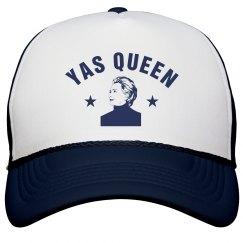 Yas Queen Hillary Trucker Hat