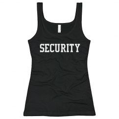 Security Ladies Tank