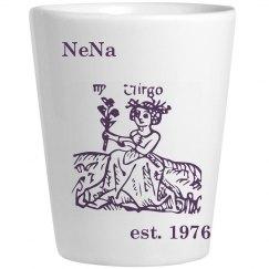 nena virgo shot glass
