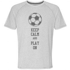 Soccer - Keep calm and play on