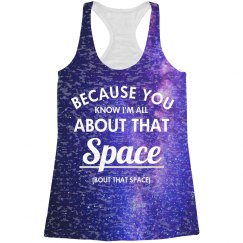 Because I'm All About That Space