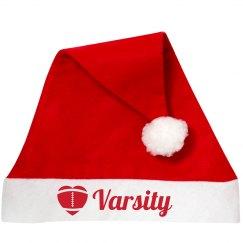 Varsity Football Santa