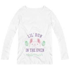 Bunny In The Oven Maternity Tee