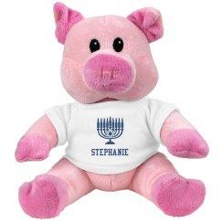 Hanukkah Teddy Bear
