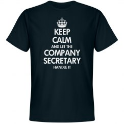 Keep calm and let the Company Secretary handle it