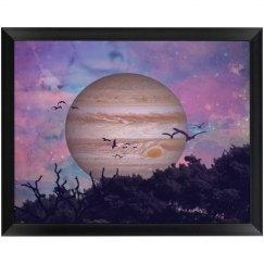 Callisto Wood Plaque