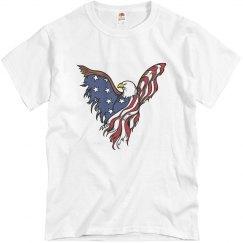 Men's Fourth of July Eagle