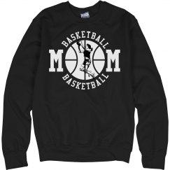 Custom Basketball Mom Fleece Sweaters