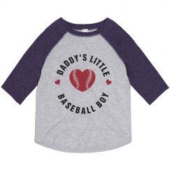 Daddy's Baseball Girl