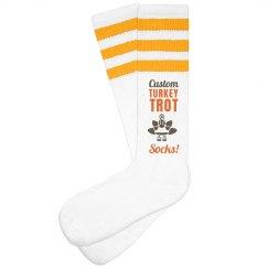 Custom Turkey Trot Socks