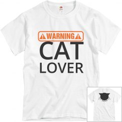 Cat Lover T-shirt