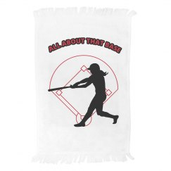 Softball Base Towel