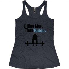 Lifting more than babies