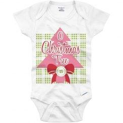 O Christmas Tree Onesie