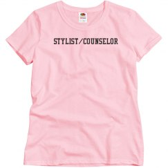 Stylist Counselor T pink