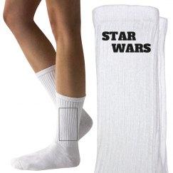 Star Wars Inspired Crew Socks