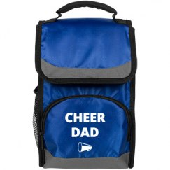 Lunch cooler bag, cheer dad