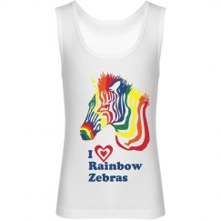 I Heart Rainbow Zebras