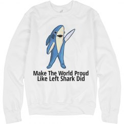 Left Shark Crewneck