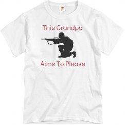 grandpa aims to please