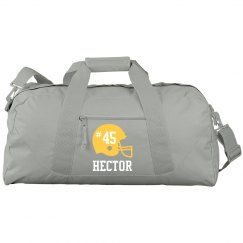 Hector Personalized Football bag