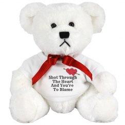 Shot Thru The Heart Bear