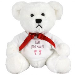 Custom Baby Name Bear
