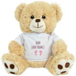 Custom Baby Name Bear