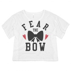 Cheer Neon Fear The Bow